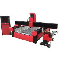 Wholesale Stone cnc router marble carving machine with worktable size 1300*2500mm KC1325S from china suppliers