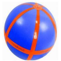 Wholesale Eco-Friendly PVC Inflatable Beach Balls , Safe Inflatable Soccer For Kids from china suppliers