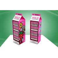 Wholesale Custom Retail Walmart Pos Cardboard Display With Hooks , Fluorescent Printing Ink from china suppliers