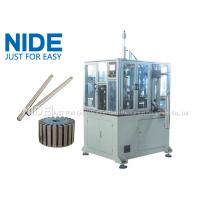 Wholesale 4KW Rotor Assembly Line , Servo Automatic Armature Commutator Shaft Inserting Machine from china suppliers