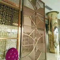 Wholesale furniture metal work custom stainless steel partition wall decorative panel from china suppliers