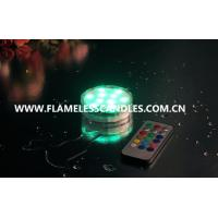 Wholesale Waterproof LED Tea Lights Candle  / LED Submersible Tealight  for Wedding Decoration Lighting from china suppliers