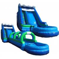 Wholesale Commercial Outdoor Inflatable Water Slides For Parks / Playground from china suppliers