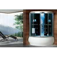 Wholesale waterproof carbonized Bamboo Frame Acrylic Wet sauna cabin steam shower rooms from china suppliers