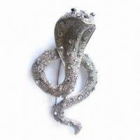 Wholesale Metal Brooch, Durable, Eco-friendly, OEM Orders Accepted from china suppliers
