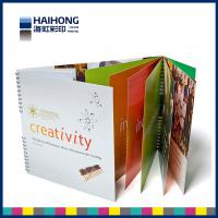 Wholesale A4  CMYK , 4C Spiral Bound Book Printing / brochure printing and binding service from china suppliers