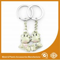Wholesale Cow Custom Metal Keychains Personalized Keychains For Couples from china suppliers
