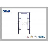 Wholesale Painted Galvanizing Scaffolding  Frame With Q345A Steel Tube from china suppliers