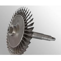 Buy cheap Custommade Raw casting plus machining vacuum investment casting steam turbine wheel from wholesalers