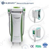 Wholesale RF & Ultrasonic & Cryolipolysis & Vacuum 4 in 1 Multifunction 5 handles fat-freezing from china suppliers