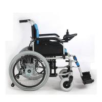 Quality 22 Inch Indoor Lightweight Portable Electric Wheelchair For Elderly / Children for sale