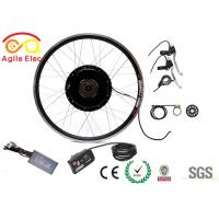 Quality 36V 350W Ebike Brushless Gearless Hub Motor Kit With LED Display for sale