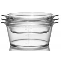 Wholesale Eco-Friendly Oven Safe Heatproof Pyrex Glass Casserole Cooking Pot 800ml from china suppliers