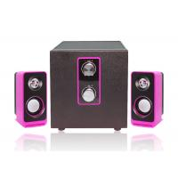 Wholesale Wired Type Pc Multimedia Speakers , 2.1 Laptop Speakers Light Weight from china suppliers