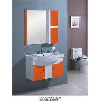Wholesale hanging cabinet / PVC bathroom vanity / wall cabinet / white color for bathroom 80 X49/cm from china suppliers