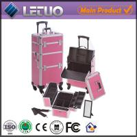 Quality LT-MCT0211 make up beauty cosmetic makeup trolley case makeup trolley case for sale