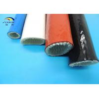Wholesale Fire Protective Fiberglass Sleeves with Silicone Rubber Coating 100mm ID from china suppliers