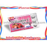 Wholesale Mix Berries Sour Sweets Chewable Vitamin C Candy For Healthy Supplement from china suppliers