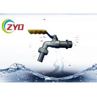 Wholesale Commercial Plumbing Bib , CE Aluminum Wave Handle Washing Machine Spigot from china suppliers