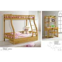 Wholesale Modern beech Wooden children Bunk bed,double bunk bed,double decker bed home furniture from china suppliers