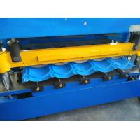 Wholesale Hydraulic Cutting Roof Glazed Tile Roll Forming Machine PLC Automatic Control from china suppliers