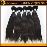 Wholesale 5A Unprocessed Remy Indian Hair Extensions  from china suppliers