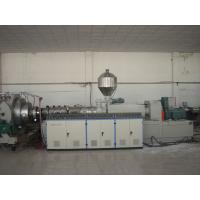 Wholesale AC Motor Conical Twin Screw Extruder For PVC Plastic Pipe from china suppliers