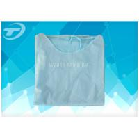 Wholesale PP SMS Disposable Scrub Suits Patient Surgical Hospital Isolation Gowns from china suppliers