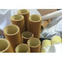 Quality Brown Industrial High Temp Felt Roll High Abrasion PBO With Resin for sale