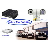 Wholesale Real Time 3G GPS mobile dvr recorder PTZ Vehicle Security Camera System for Police Car from china suppliers
