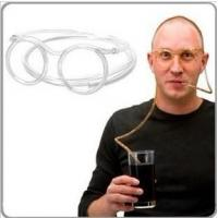 Wholesale New Unique Flexible Tube Drinking Glasses Drinking Fun from china suppliers