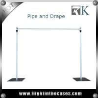 Wholesale Telescopic pole, pipe and drpae systems candle wall backdrop for wedding from china suppliers