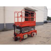 Wholesale 0.75 - 3Kw Power Hydraulic Aerial Work Platform , Full Electric Mobile Elevated Platform from china suppliers