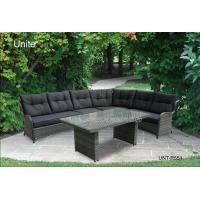 Wholesale Wicker Rattan Garden Table Furniture Sectional Sofa Set For Deep Relaxing from china suppliers