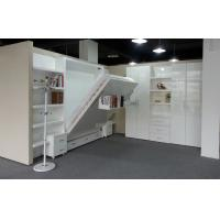Wholesale Space Saving Murphy Bed with Shelf  White High Gloss Echo-friendly from china suppliers