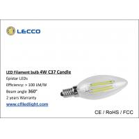 Wholesale 4W E14 Filament LED Bulb  6000K , Led Candle Light Bulbs For Pendant Lamps from china suppliers