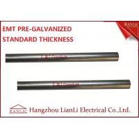"Wholesale 1-1/2"" Steel Electrical Metallic Conduit with Pre Galvanized Finish 3.05 Meters from china suppliers"