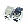 Buy cheap MCF11B2GGA4-G709 Gigabit Single Port RJ45 Connector With Single USB LPJU3936AWNL from wholesalers