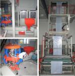 3 Phase PP Non Woven Bag Making Machine Nonwoven Fabric Making Machine