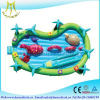 Wholesale Hansel customized design inflatable dry slide playing equipment from china suppliers