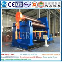 Buy cheap CNC machine MCLW12XNC-60*3000 large hydraulic plate bending/rolling machine from wholesalers