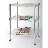 Wholesale Chrome Metal Storage Racks / Shelves Multi Function Home Shop from china suppliers