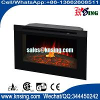 "Wholesale 30"" insert  fireplace electric stove ZCR3830 modern flame burning log effect www.knsing.com from china suppliers"