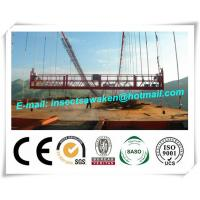 Wholesale Hanging Scaffold Wind Tower Production Line , Aluminum Steel Suspended Working Platform from china suppliers