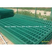Quality Steel Bar Welded Wire Mesh Fencing , Galvanized Metal Fence Panels For Highway for sale