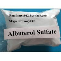 Wholesale CAS 51022-70-9  Pharmaceutical Ingredient Salbutamol Sulfate Albuterol Sulfate Fitness Steroids from china suppliers