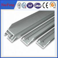 Wholesale Hot! International standard 6063-t5 anodized aluminum profile extrusion for solar panel from china suppliers