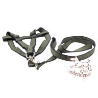 Wholesale army green dog harness with nylon material from china suppliers