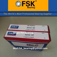 Wholesale Gcr15 Chrome Steel 6211ZZ Pump Bearings , P4 P2 SKF / KOYO / NTN Ball Bearing from china suppliers