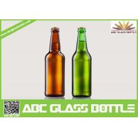 Wholesale Fancy Summer Promotion With Screw Top Beer Glass Bottles,Amber and Green beer glass bottle from china suppliers